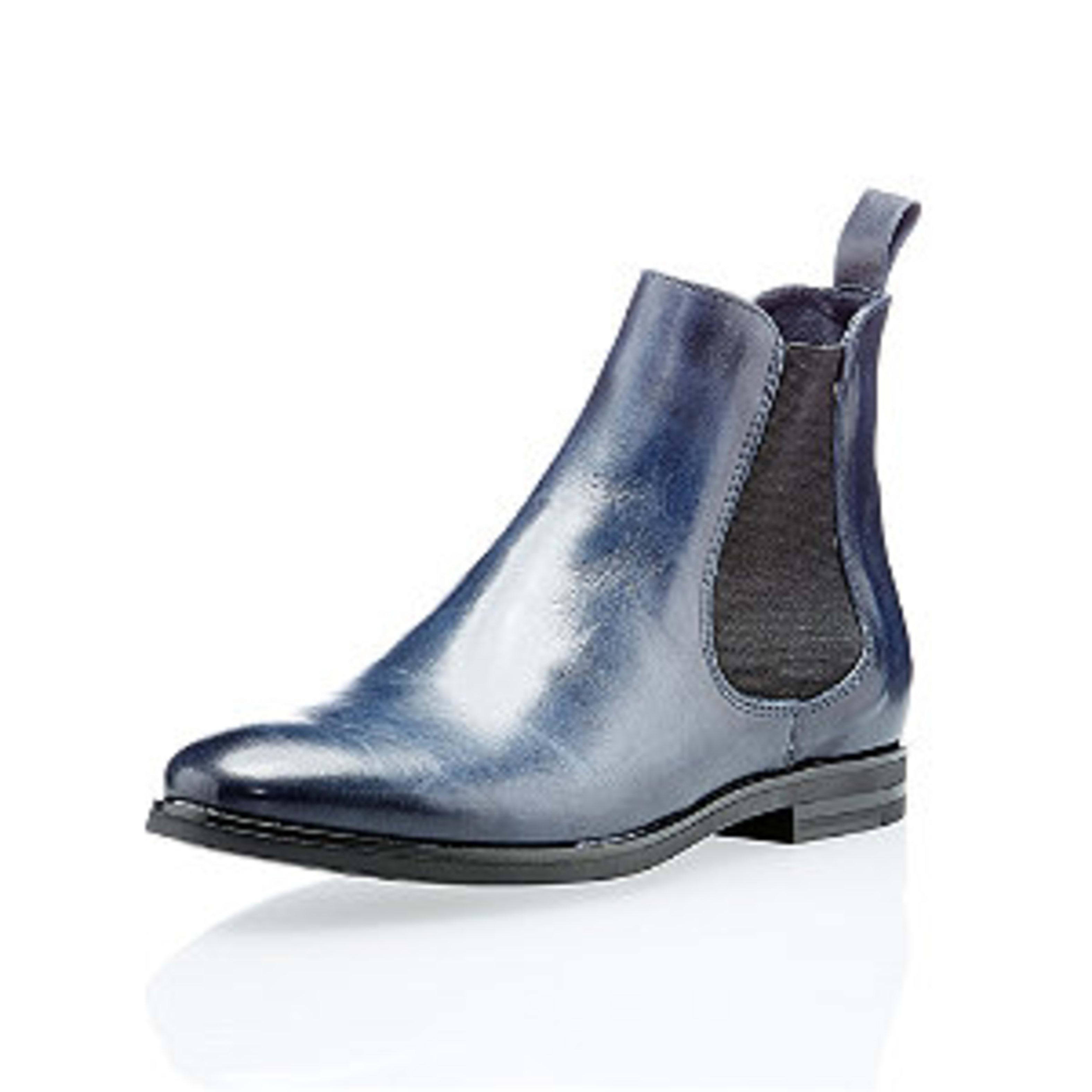 Online gehen strukturelle Behinderungen Qualität Varese Damen Chelsea Boots Blau | Varese - Schuhe mit ...