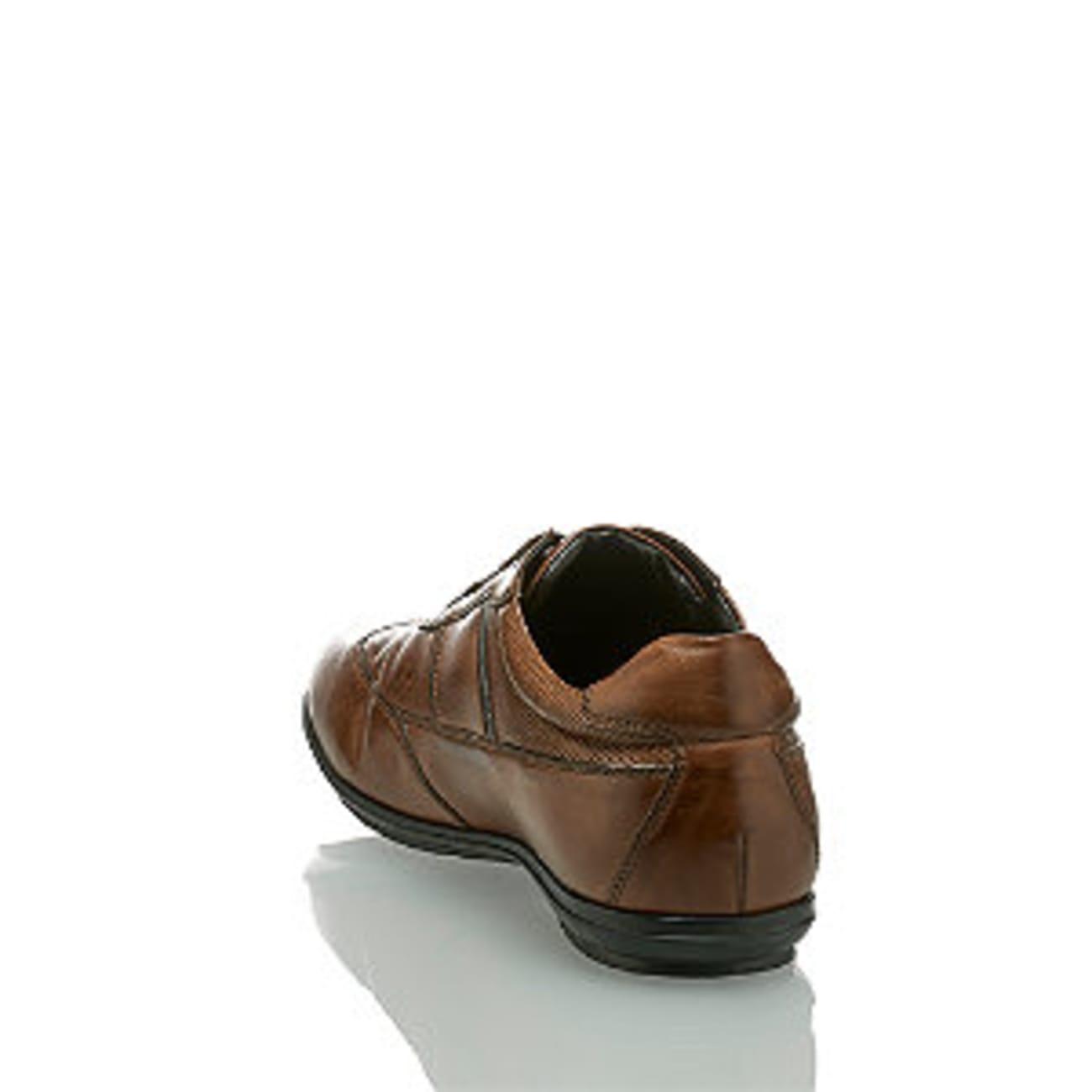 Varese Flavio Herren Schnürschuh Braun | Varese Schuhe mit