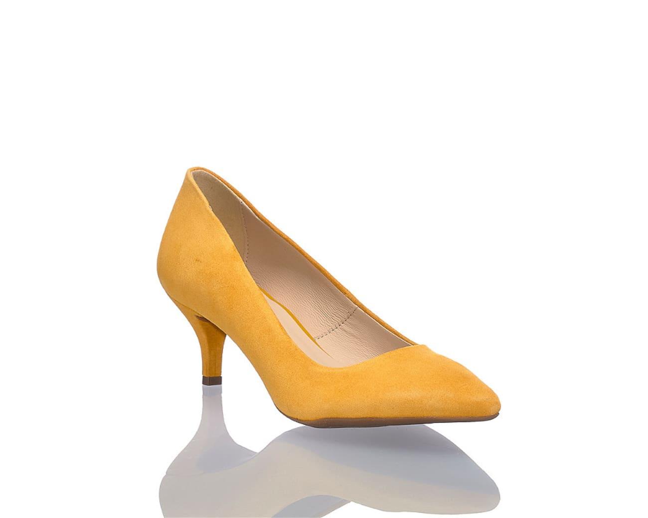 d7084c15a9cdbc Varese Anina Damen Pumps gelb