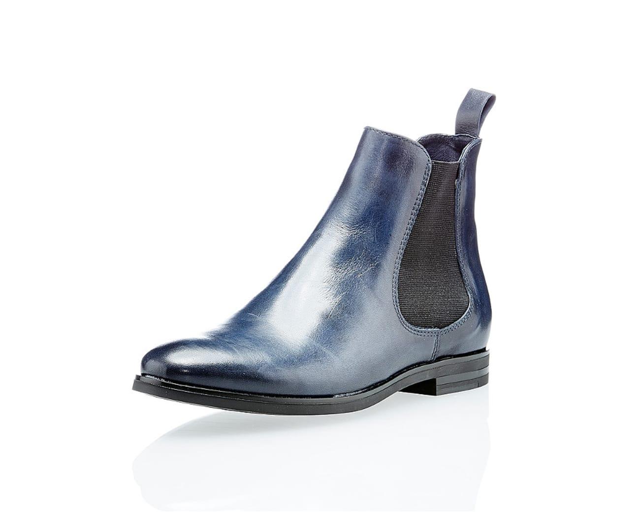 5647624bc1210e Varese Damen Chelsea Boots Blau