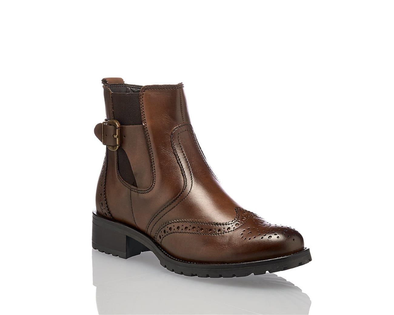 2c6be79092b37f Varese Oxana Damen Chelsea Boot Braun. 90.90 CHF. Filiale suchenOnline  kaufen