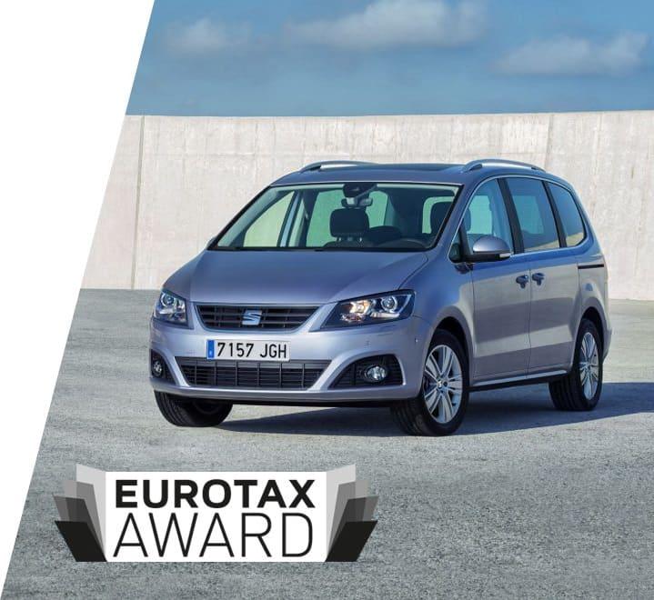 SEAT Alhambra Eurotax Award