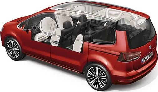 SEAT Alhambra euroncap