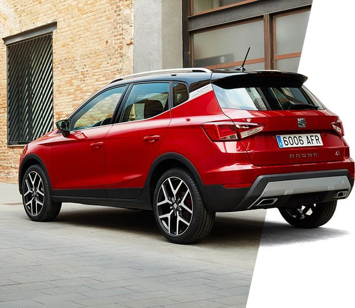 New SEAT Arona rear view