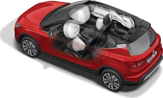 New SEAT ARONA airbags