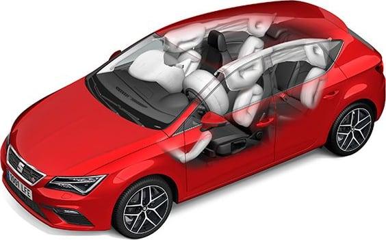 New SEAT Leon 5 Doors Safety & Comfort
