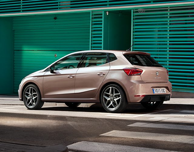 New SEAT Ibiza exterior angle front view