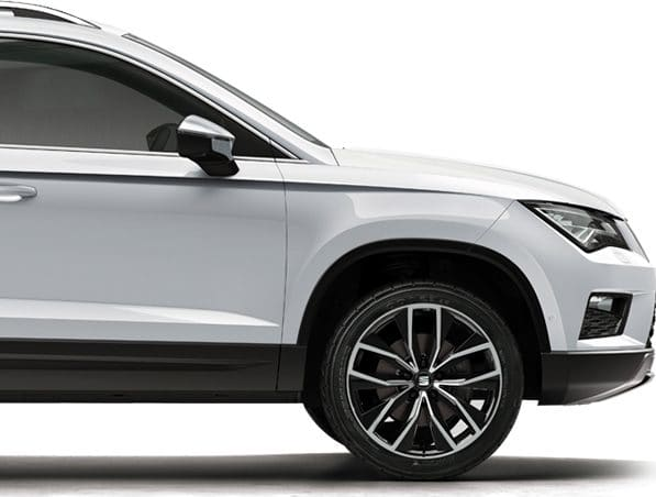 SEAT Ateca rear lateral details