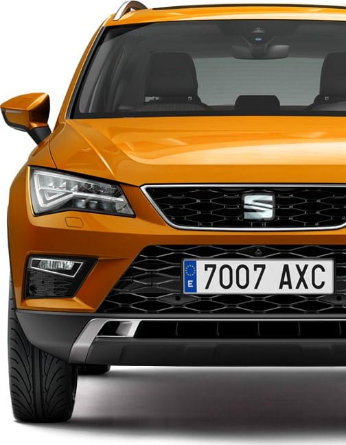 SEAT Ateca front details