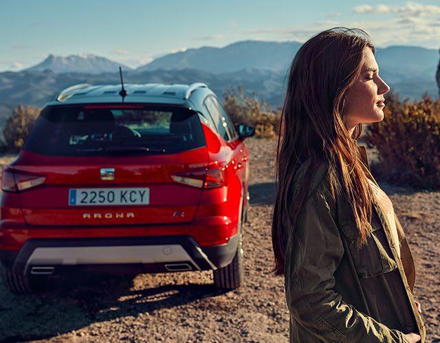 Der neue SEAT Tarraco SUV 7-Plätzer – Seitenansicht – Zubehör - zusätzlicher Stauraum - massgeschneidertes Design