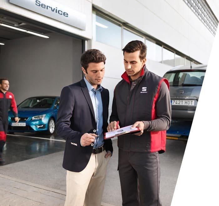 SEAT aftersales services pre mot