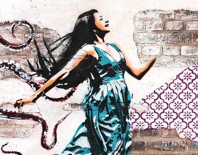 New SEAT ARONA Street Art Graffiti
