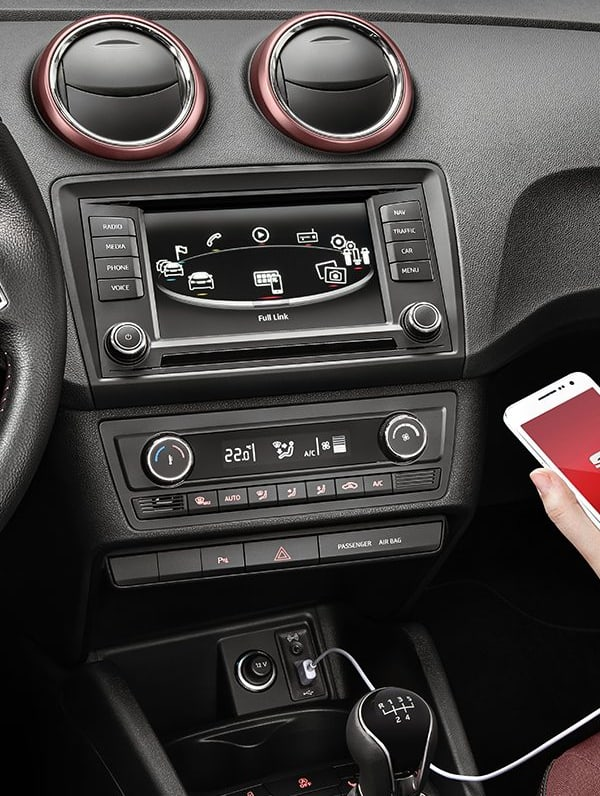 New SEAT Ibiza 5D interior dashboard