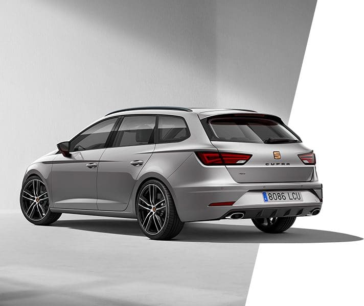 New SEAT Leon CUPRA lateral view