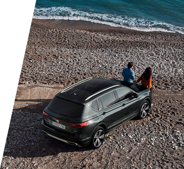 Nouvelle SEAT Tarraco, SUV 7 places, vue latérale, accessoires, rangements supplémentaires, design personnalisé