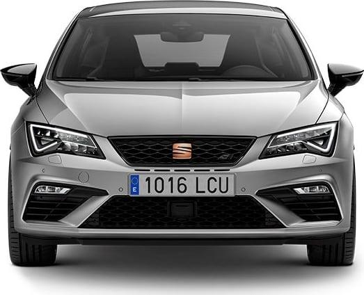 New SEAT Leon CUPRA front view