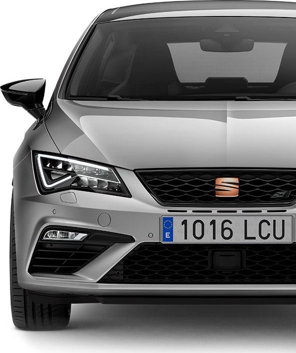 New SEAT Leon CUPRA front view