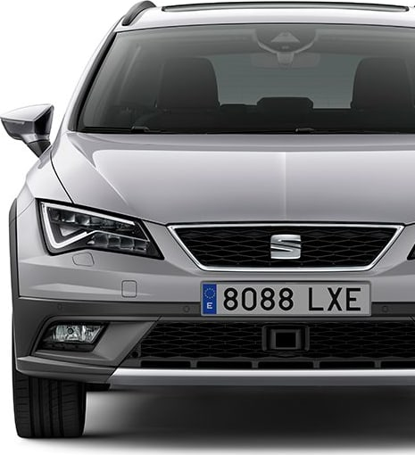 New SEAT Leon X-PERIENCE front view