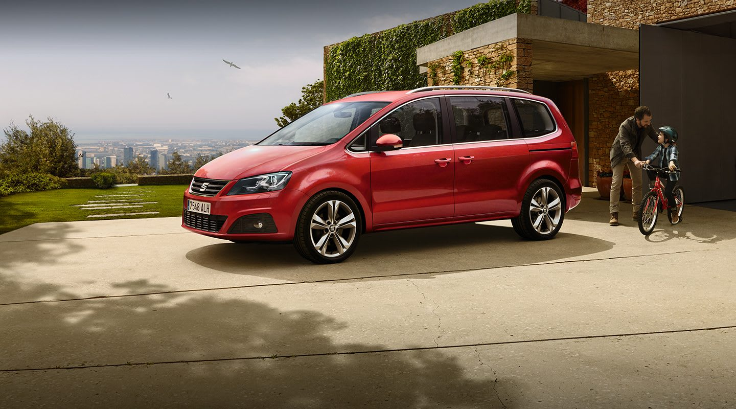 SEAT Alhambra family car