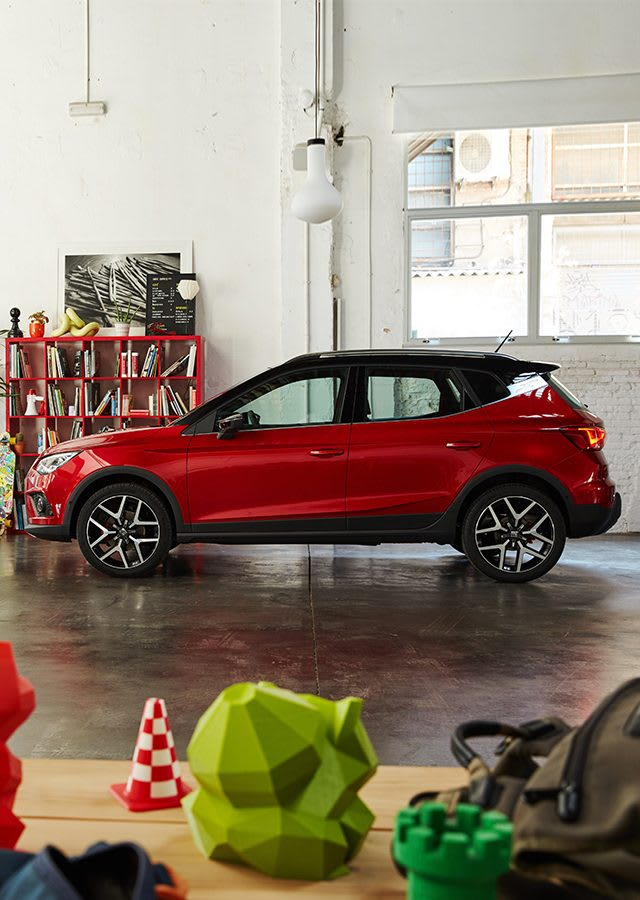 New SEAT Arona Exterior Design