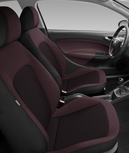 New SEAT Ibiza 5D interior view
