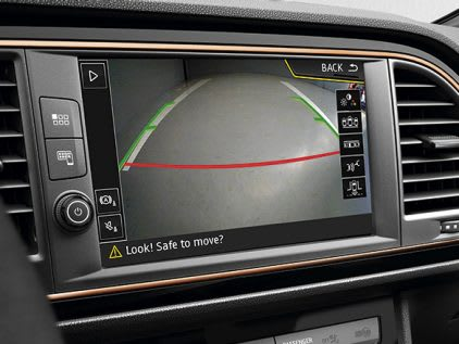 New SEAT LEON CUPRA R rear view camera feature
