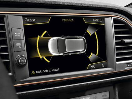 New SEAT LEON CUPRA R park distance control safety feature