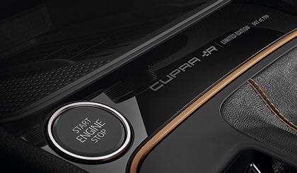 New SEAT Leon CUPRA R interior doorstep