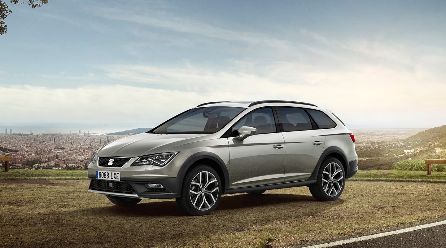 New SEAT Leon X-PERIENCE exterior shot