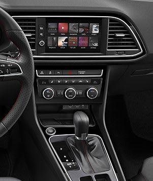 SEAT Leon 5 Türen Mittelkonsole