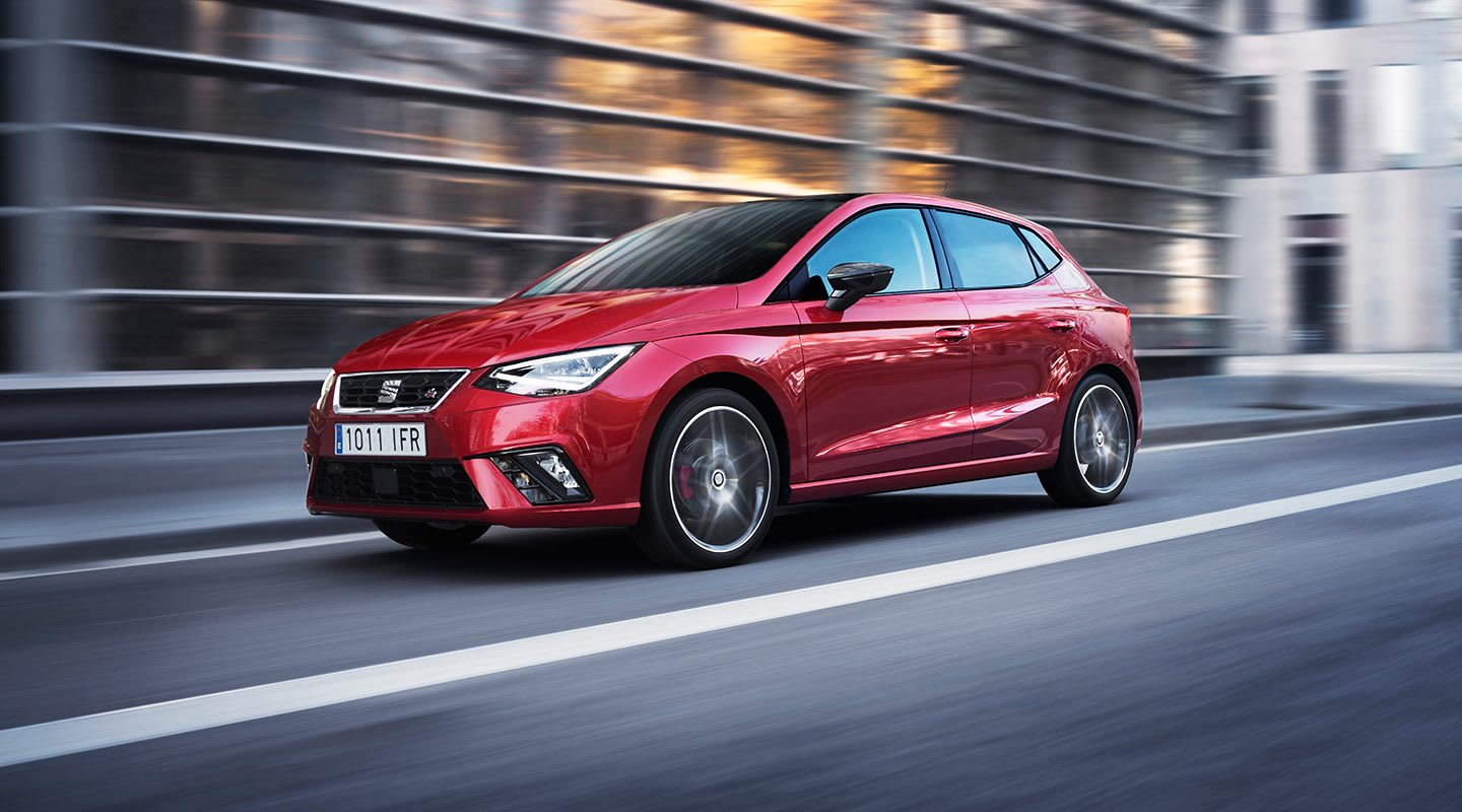 New SEAT Ibiza Detailed FR Driving