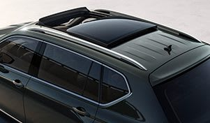 SEAT Tarraco, der Grossraum-SUV mit geöffnetem, elektrischem Panorama-Schiebedach