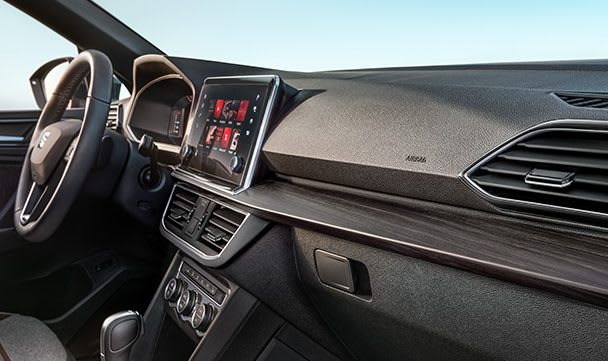 Armaturentafel im SEAT Tarraco, dem Grossraum-SUV