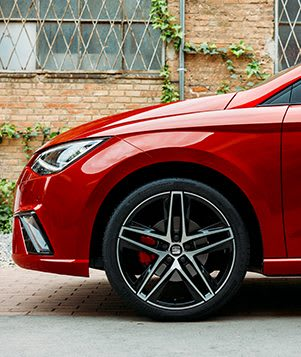 "New SEAT Ibiza Detailed View Of Performance 18"" 20/1 Alloy Wheel"