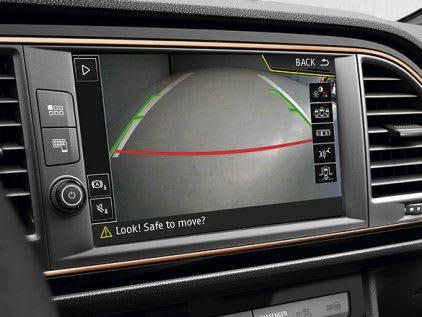New SEAT LEON CUPRA R rear view camera feature