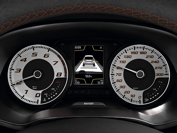 New SEAT CUPRA RFully Dgital Cluster technology detail