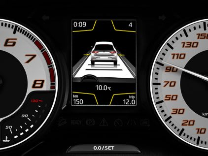 New SEAT Leon CUPRA R Adaptive cruise control feature