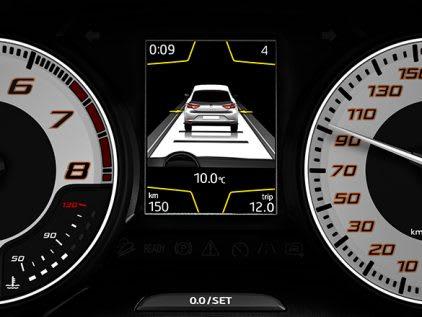 New SEAT Leon CUPRA R Adaptive cruise control feature