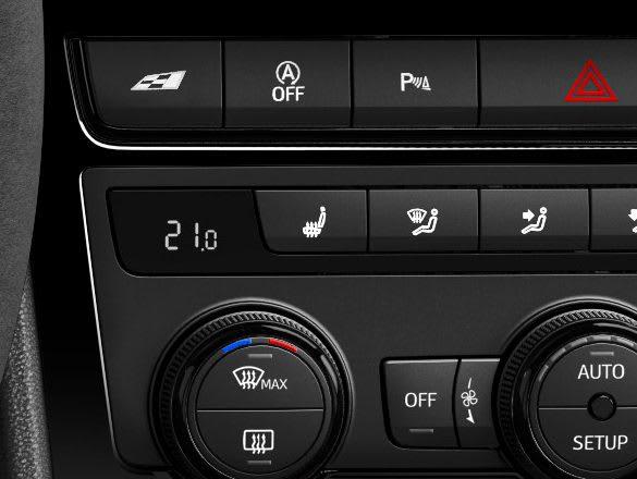 New SEAT Leon CUPRA R winter pack comfort feature