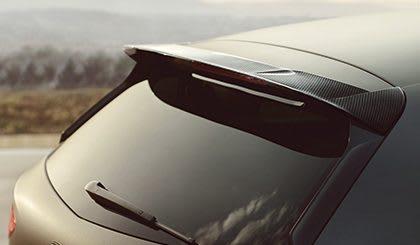 New SEAT Leon CUPRA R carbon fiber rear diffuser & exhaust pipes