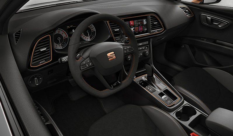 New SEAT CUPRA R interior cooper details