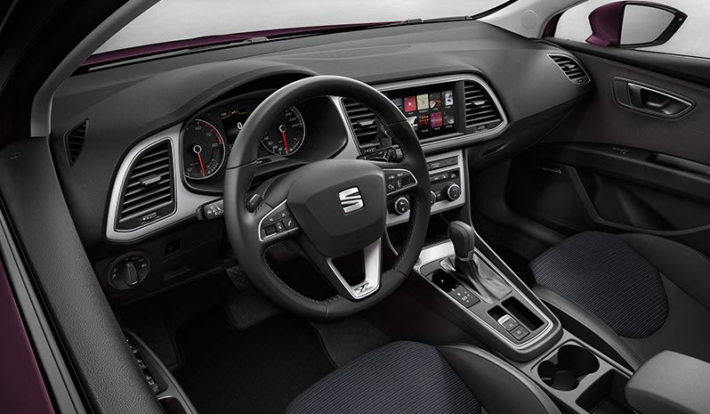 SEAT Leon ST interior view
