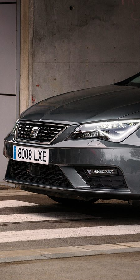 New SEAT Leon ST dynamic car