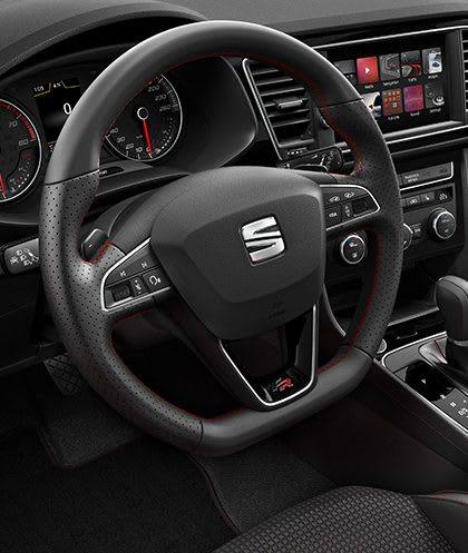 New SEAT Leon 5 Doors Dashboard