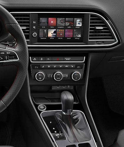 New SEAT Leon 5 Doors Central Console