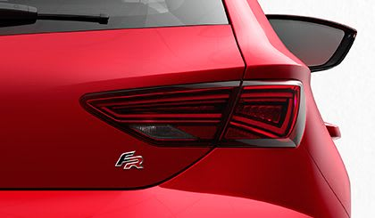New SEAT Leon 5 Doors Rear View