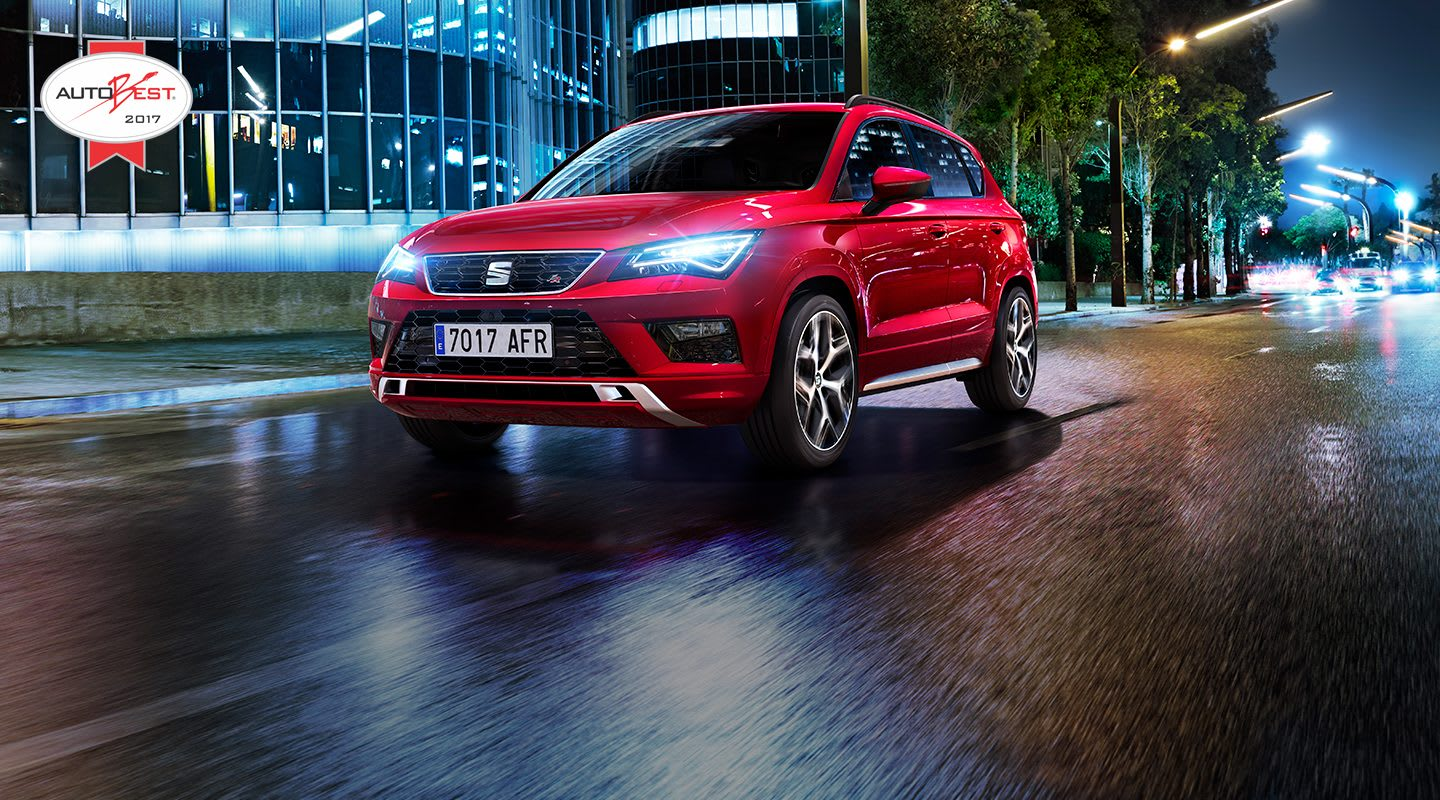 SEAT Ateca on the road