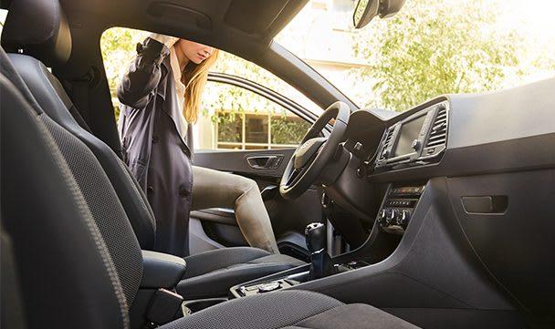 SEAT Ateca spacious trunk