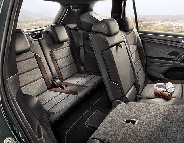 SEAT Tarraco, le SUV spacieux aux sièges configurables, SUV pouvant accueillir jusqu'à 7 passagers, les deux sièges arrière rabattus