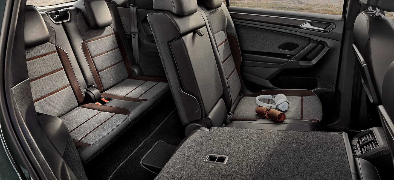 Nouvelle SEAT Tarraco, SUV 7 places, design intérieur, sièges pliables, rabattables et coulissants.